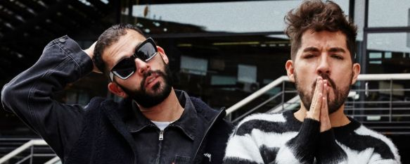 Xavi Road (a la izquierda de la imagen) cuenta que le une a Ronda su amistad virtual con el técnico de sonido José María Tornay. // Siloé