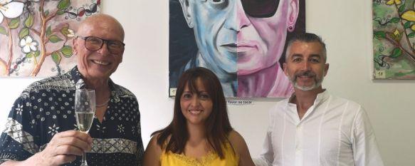 El artista alemán Udo Burkhardt inaugura una exposición en la Cafetería Blanco y Negro, La muestra se compone de unas 20 obras de retratos, flora y…, 03 Aug 2021 - 19:20