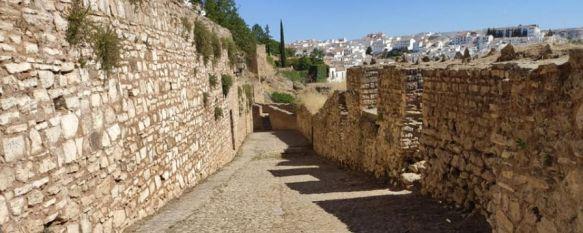 Comienzan los trabajos de recuperación del camino interior de las Murallas del Carmen, La subvención de 150.000€ que el gobierno andaluz concede a Ronda como municipio turístico permitirá financiar el proyecto, que será realidad a finales de noviembre, 20 Aug 2021 - 11:12