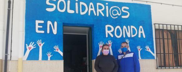 """Pepi Guerrero: """"También hay que ayudar a los que ayudan"""", La asociación Solidarios en Ronda necesita más voluntarios y recursos económicos para poder adquirir una furgoneta , 31 Aug 2021 - 15:15"""