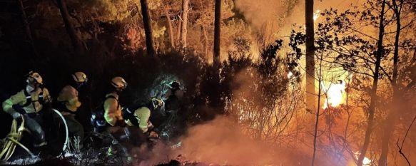 Activado el nivel de Emergencias 1 del Plan Infoca por un incendio en Sierra Bermeja, El servicio de emergencias 112 recibió anoche unas 140 llamadas  de vecinos procedentes de Jubrique, Genalguacil y Estepona alertando de las llamas, 09 Sep 2021 - 07:37