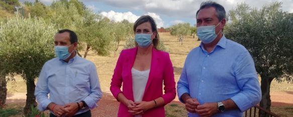 Espadas reprocha a la Junta de Andalucía su escaso apoyo a los municipios afectados por el incendio, El secretario general del PSOE andaluz ha visitado LA Organic…, 17 Sep 2021 - 17:34