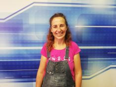 Ani González, impulsora de La Fanega, visita el plató de Charry TV.  // CharryTV