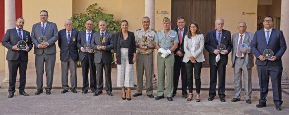 Ronda acogió la entrega del Premio Nacional de Periodismo José Ortega Munilla, El general AntonioEsteban y EmilioDomínguez, ganadores…, 24 Sep 2021 - 10:56