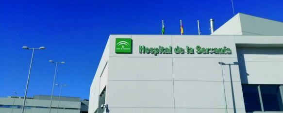 Dos pacientes con COVID-19 continúan ingresados en el Hospital Comarcal de la Serranía. // María José García
