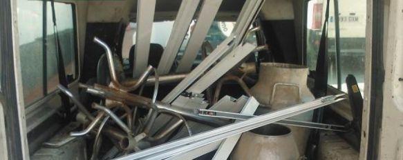 Cuatro detenidos en Ronda por supuesto hurto en una nave de material de aluminio, Los detenidos y el material intervenido han sido puestos a disposición Judicial, 27 Jan 2012 - 20:31