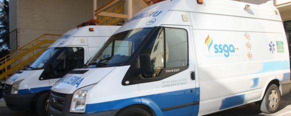 Un hombre sustrae una ambulancia en el centro de salud Ronda Norte, El individuo fue interceptado por efectivos de la Policía Local y ha sido trasladado a un centro psiquiátrico en Málaga, 31 Jan 2012 - 20:06