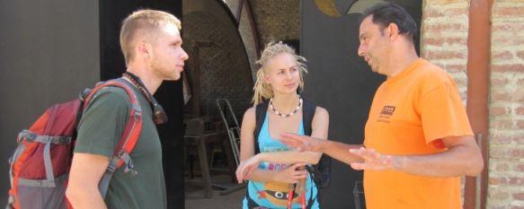 Jóvenes europeos que han realizado prácticas y voluntariado en el Centro Juvenil IRUÁ. // CIJ IRUÁ