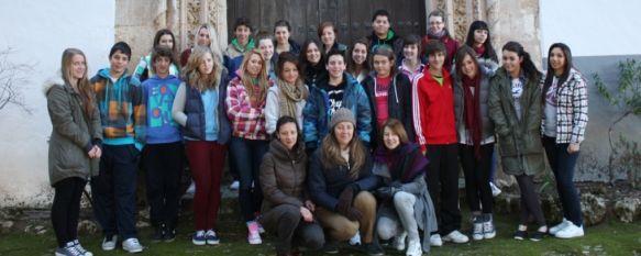 Los alumnos del Colegio Fernando de los Ríos participan en un intercambio lingüístico , En marzo los estudiantes rondeños visitarán Inglaterra para practicar el idioma, 09 Feb 2012 - 16:57