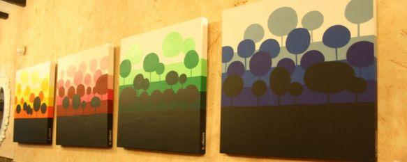 Sara Arias debuta con su exposición Pajaritos en la Cabeza, La muestra de esta rondeña autodidacta puede contemplarse en el bar El Callejón, en calle Molino, 11 Feb 2012 - 00:32