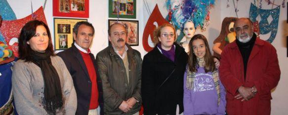 Inaugurada la muestra sobre la historia del Carnaval de Ronda, Podrá visitarse en la sala de exposiciones de la Casa de la Cultura hasta el próximo viernes, 14 Feb 2012 - 09:22