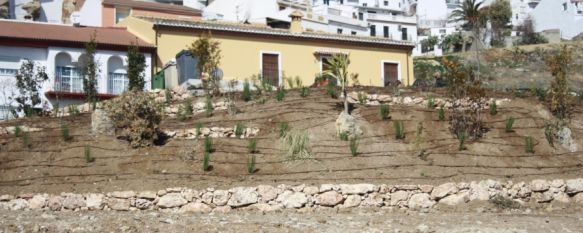 Ronda cuenta con un nuevo espacio público en la Cruz de San Jorge, El proyecto ha contado con una inversión de 36.000 € y contará con un aparcamiento de 19 plazas y un mirador, 15 Feb 2012 - 14:15