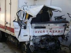 Estado en que ha quedado el vehículo que dirigía el conductor fallecido. // CharryTV