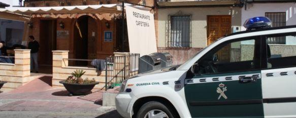 Roban en un hotel de Arriate y agreden a uno de sus empleados , El trabajador quedó inconsciente tras ser inmovilizado, 21 Feb 2012 - 14:28