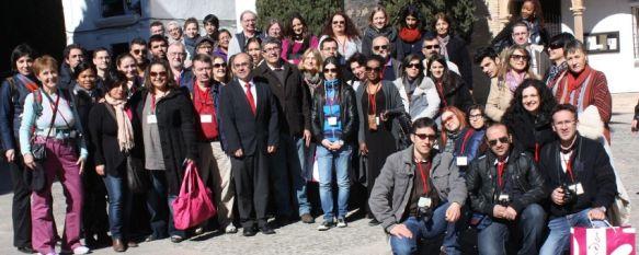 Ronda acoge a 48 alumnos y profesores europeos del proyecto GRUNDTVIG, Durante cuatro días los estudiantes realizarán intercambios y experiencias educativas, 23 Feb 2012 - 16:50