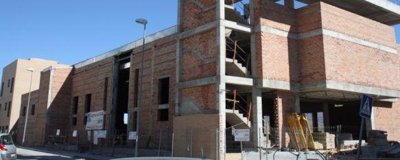 La nueva iglesia de San Rafael, al 70% de ejecución, El templo será el primero de la ciudad que cuente con un columbario y cuenta con una inversión de 1,7 millones de euros, 26 Feb 2012 - 17:40
