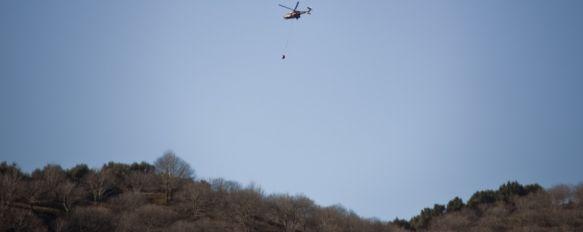 Defienden la inocencia del retén que podría haber causado el incendio de Pujerra, Fuentes del Infoca aseguran que las condiciones para la quema de rastrojos eran las óptimas y niegan que se produjese una negligencia, 29 Feb 2012 - 20:51