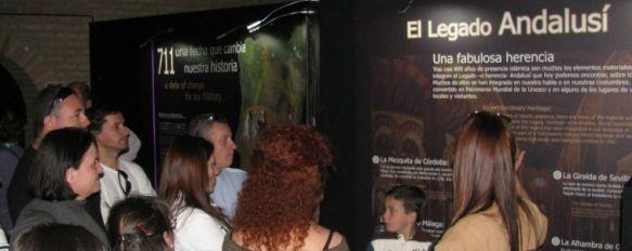 Cerca de un millar de personas visitan la Escuela Taller Serranía Innova, El alumnado organizó  visitas guiadas y representaciones teatralizadas para mostrar el proyecto Poblado Nazarí, 01 Mar 2012 - 17:33