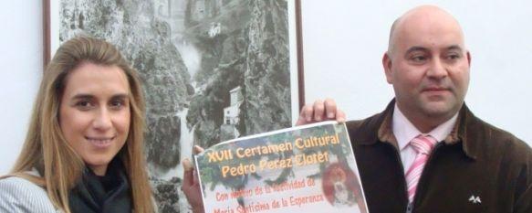 La Hermandad de La Columna presenta el XVII Certamen Cultural Pedro Pérez-Clotet, El Consiliario de la Hermandad ha anunciado que se va iniciar el largo proceso para la coronación canónica de la Virgen de La Esperanza. , 16 Nov 2010 - 22:40