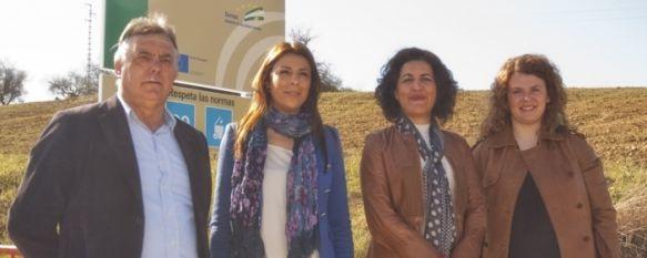 """Comienza el Plan """"Encamina2"""" con la mejora de cinco caminos rurales , El proyecto cuenta con una inversión de más de 200.000 euros financiada por la Junta de Andalucía, 09 Mar 2012 - 17:43"""