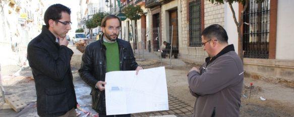 El primer tramo de la calle Sevilla se acondicionará de forma provisional para Semana Santa, Se facilitará el paso de los distintos desfiles procesionales y el tránsito de visitantes , 09 Mar 2012 - 18:04