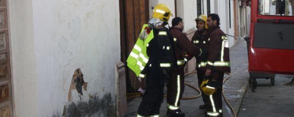 La Policía imputa a dos personas como responsables del incendio de un edificio en calle Sevilla, Se identifica a A.M.M de 30 años de edad y a S.S.G de 44 como presuntos autores de los hechos, 28 Mar 2012 - 18:10