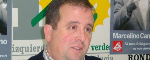Rafael Ruiz critica que la división del equipo de gobierno afecta al progreso de la ciudad, Izquierda Unida exige también a Medio Ambiente el cumplimiento del Plan Integral del río Guadiaro., 22 Nov 2010 - 22:15