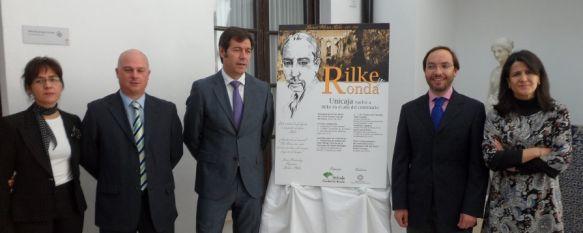 """Unicaja conmemora el centenario de la estancia de Rilke en Ronda, El programa cultural """"Ronda y Rilke"""" llevará a cabo distintas actividades poéticas , 07 May 2012 - 18:48"""