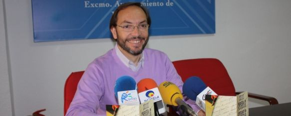 Cultura presenta las bases del XIII Premio de Poesía Ciudad de Ronda, Los trabajos se podrán presentar hasta el próximo 28 de septiembre, 22 May 2012 - 11:28