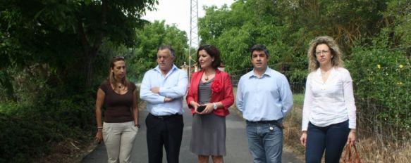 El Plan Encamina2 permite la mejora de cinco caminos rurales de la ciudad en dos meses, La inversión destinada a los arreglos de caminos en Ronda, Cuevas del Becerro y Faraján asciende a 475.000 euros, 28 May 2012 - 16:58