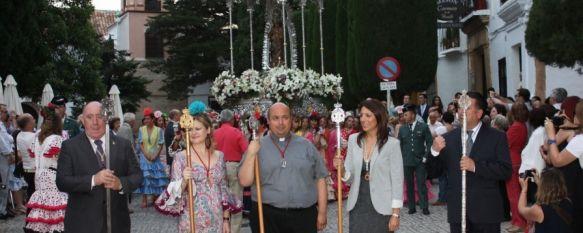 La Hermandad de Nuestra Señora de la Cabeza celebra su romería, Se han estado realizando diferentes actos religiosos durante todo el fin de semana, 04 Jun 2012 - 18:56