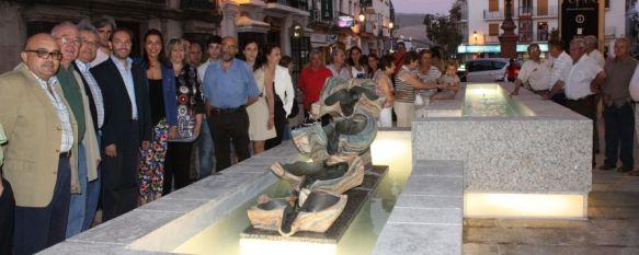 Inauguran los trabajos de remodelación y peatonalización de la plaza Carmen Abela, El proyecto ha contado con una inversión de 818.000 euros, 12 Jun 2012 - 20:03