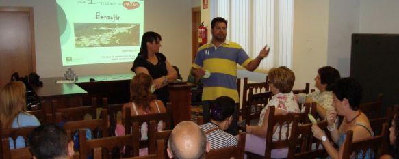 """Los vecinos de Benaoján se suman al proyecto """"Por un millón de pasos"""", Esta iniciativa se enmarca en el Plan para la Promoción de la Actividad Física y la Alimentación Equilibrada, 18 Jun 2012 - 17:38"""