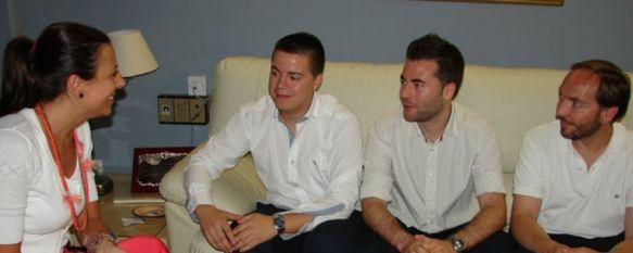 Dos estudiantes rondeños consiguen un importante premio de arquitectura, José Manuel Ruiz y Juan Jesús Lobato estudian quinto de arquitectura en la Universidad de Málaga, 02 Jul 2012 - 19:24