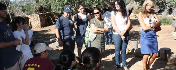 La Algaba acoge un campo de trabajo sobre investigación arqueológica, En el proyecto participan 25 jóvenes procedentes de diferentes puntos de España, 14 Aug 2012 - 16:17