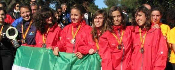 Las infantiles del Martín Rivero, Campeonas de España , Cuatro equipos representaron al I.E.S. Martín Rivero de Ronda en el Campeonato de España de Orientación por centros escolares, celebrado en Barbate. , 26 Nov 2010 - 00:20