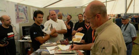 Ronda participa en un encuentro de turismo ornitológico en Reino Unido, Alfredo Carrasco, presidente del CIT Serranía de Ronda, ha dado a conocer los atractivos de la comarca, 22 Aug 2012 - 19:16