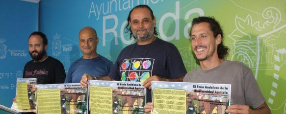 Presentan la IX Feria Andaluza de la Biodiversidad Agrícola, La Alameda del Tajo acogerá esta muestra sobre semillas y alimentación, 29 Aug 2012 - 18:03