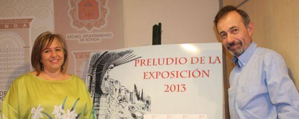 La exposición de trabajos en tinta china de Carlos Chauderlot se traslada a la Casa del Gigante, Durante las últimas semanas cientos de personas han visitado la muestra, 30 Aug 2012 - 17:06